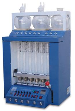 粗纤维测定仪CXC-06  嘉定粮油纤维测定仪