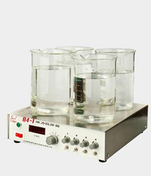84-1四工位磁力搅拌器  梅颖浦磁力搅拌器