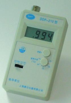 便携式电导率仪DDP-210  上海康仪电导率仪