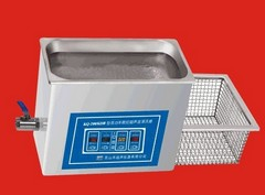 KQ-600KDV超声波清洗器   昆山舒美台式超声波清洗器