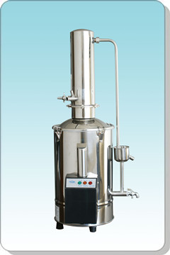 上海三申DZ10Z不锈钢电热蒸馏水器(断水控制型)