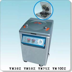 上海三申YM100Z立式壓力蒸汽滅菌器