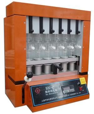 上海纤检SZC-C脂肪测定仪