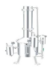 SHZ32-400不锈钢塔式蒸汽重蒸馏水器