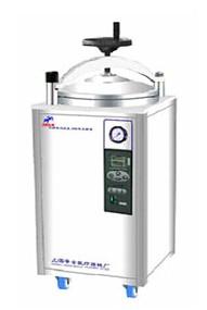 LDZX-75KBS不锈钢立式灭菌器  上海申安高压灭菌器
