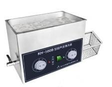 超聲波請洗器KH-600V   40KHz臺式超聲波清洗器