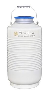 大口径液氮生物容器YDS-13-125  成都金凤液氮容器