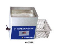 常温-80℃台式数控清洗器   KH-250DB超声波清洗器