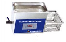 4L台式清洗器   KH2200DV超声波清洗器