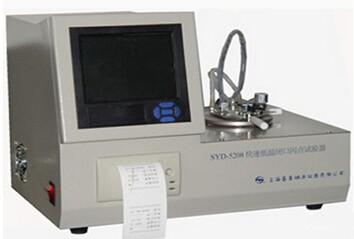 SYD-5208閉口閃點試驗器