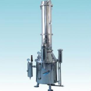 上海三申 TZ系列不锈钢塔式蒸汽重蒸馏水器TZ50