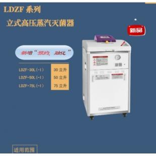 上海申安 立升立式压力蒸汽灭菌器LDZF-75L-II(LDZF-75KB-II)