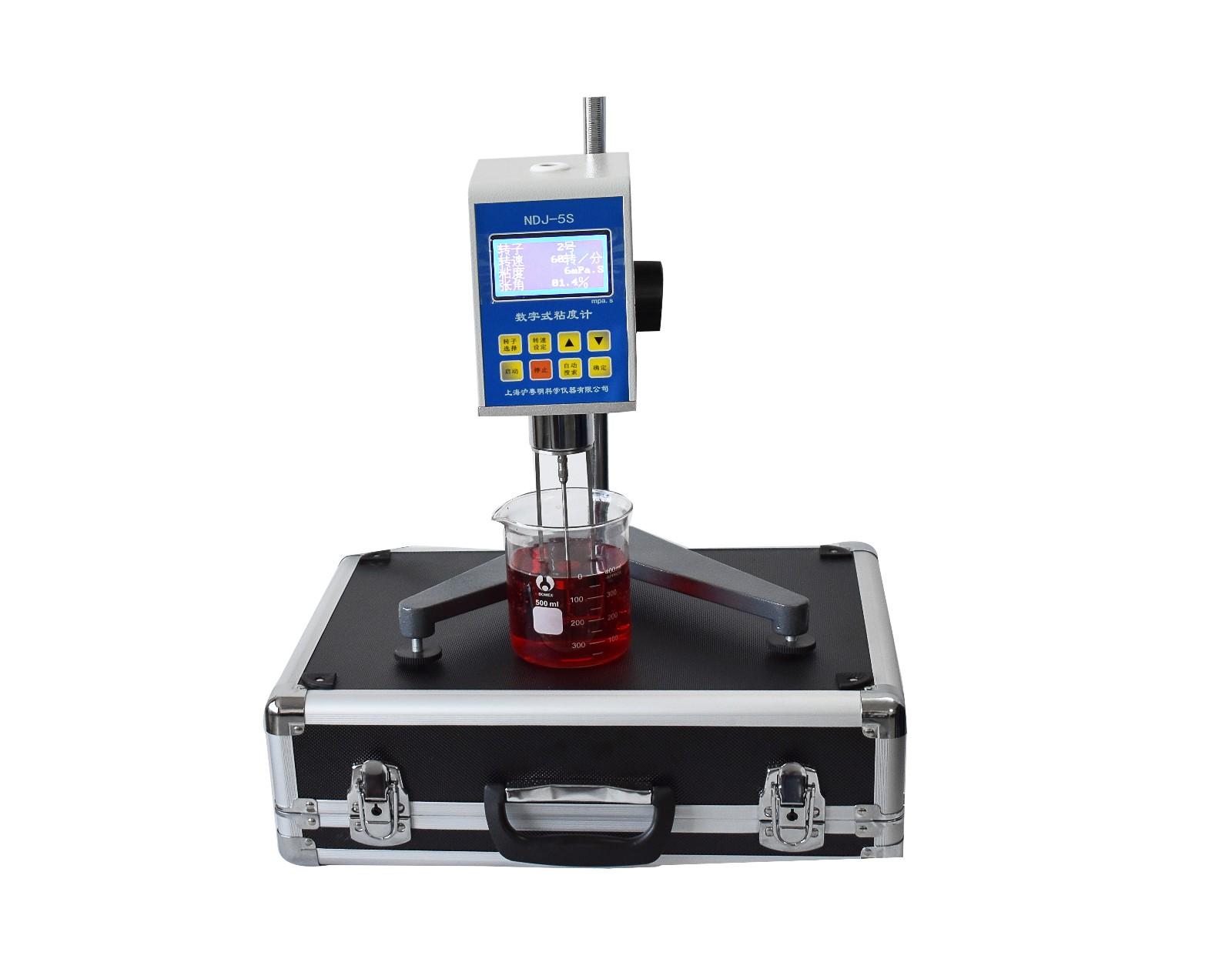 沪粤明新产品NDJ-5S数显旋转粘度计促销