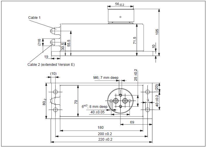德国hbm传 fit/1数字称重传感器