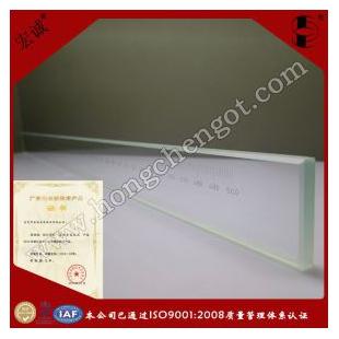 宏诚光学配件加工500mm玻璃刻度尺|标准线纹尺