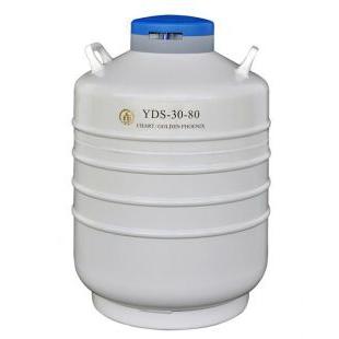 80口径金凤牌液氮罐YDS-30-80