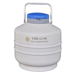 畜牧冻精液氮罐金凤牌YDS-12-90