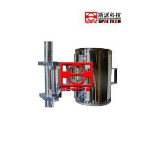 斯派拉伸试验筒式高温炉科技拉力试验机