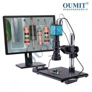 ?#35775;?#29305;自动聚焦对焦高清HDMI数码电子视频放大镜视频显微镜OMT-1800AF