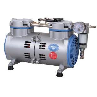 台湾洛科Rocker811无油真空泵 实验室用真空泵 活塞式真空泵 无油抽气泵 抽滤泵