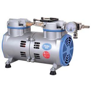台湾洛科Rocker800无油真空泵 真空抽气泵 抽滤泵