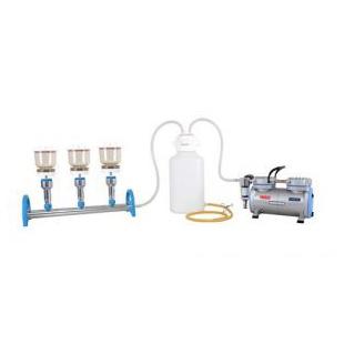 臺灣洛科鋁制三聯過濾器 三聯過濾套裝 多聯抽濾套裝