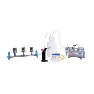 臺灣洛科不銹鋼三聯換膜過濾器微生物檢測三聯式過濾器