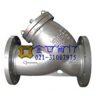 美标Y型过滤器GL41H-150LB 台湾金口美标磅级过滤器