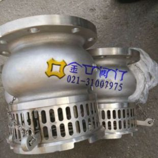 台湾金口日标拉柄式底阀 台湾金口水泵底阀
