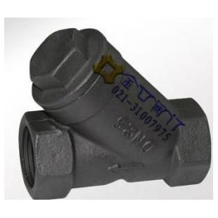 碳钢内螺纹过滤器GL11H 台湾金口蒸汽过滤器