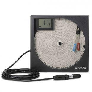 美國迪克森溫濕度圖表記錄儀TH8P3