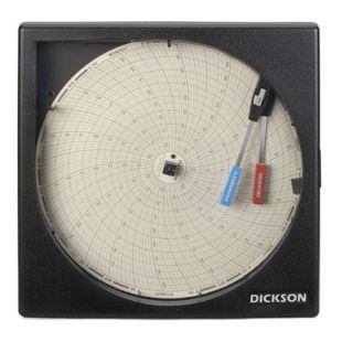 美國迪克森溫濕度圖表記錄儀TH8P0
