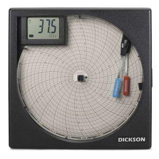 美国迪克森温湿度图表记录仪TH8P2