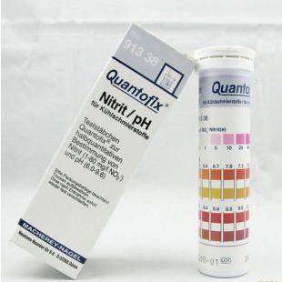 德國MN 91338型QUANTOFIX亞硝酸鹽/pH半定量測試條