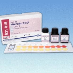 德国MN 931015型VISOCOLOR? ECO游离氯和总氯比色法测试套件