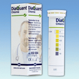 德国MN 932004型DiaQuant氯半定量测试条