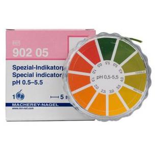 德国MN 90205型特殊指示纸 pH 0.5-5.5