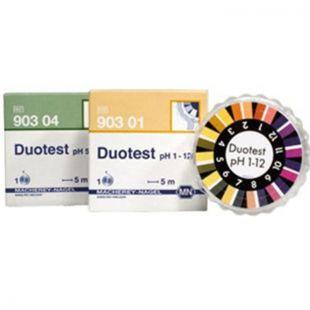 德国MN DUOTEST系列双区pH试纸
