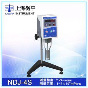 上海衡平NDJ-4s数显旋转粘度计