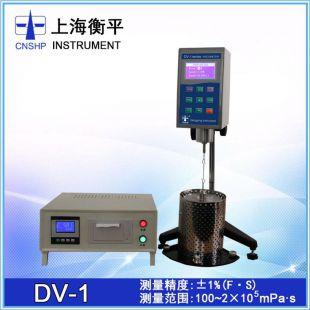 上海衡平DV-1C沥青专用布氏转粘度计