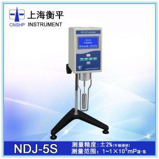 上海衡平NDJ-5S 液晶旋转粘度计