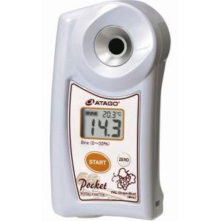 ATAGO葡萄汁可溶性固形物含量折射仪,数显折射仪