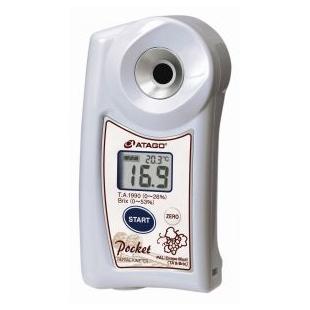 ATAGO手持折射仪 ,酿造葡萄酒折射仪, 葡萄汁波美度折射仪