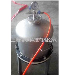 上海信步10L内衬四氟加压过滤器