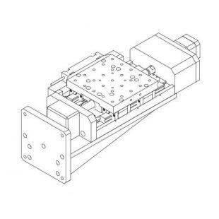 卓立漢光   KSAxxx-Z系列高精密電動升降滑臺