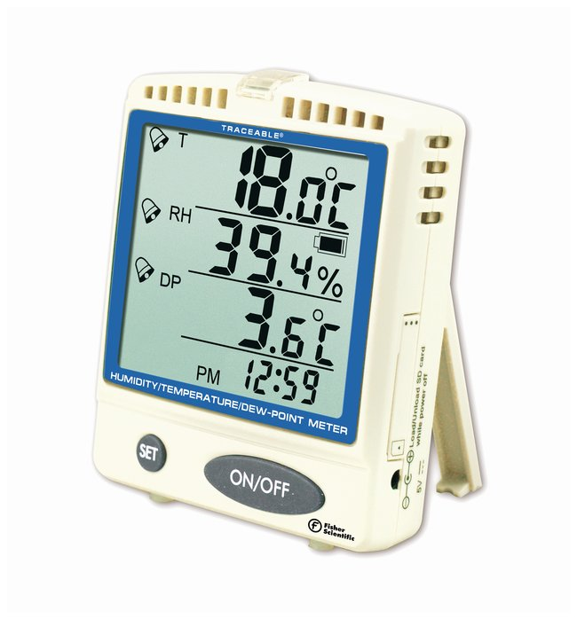Traceable™ Memory-Card Humidity/Temperature/Dew Point Meter