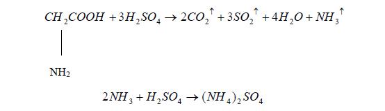 微量凯氏定氮法