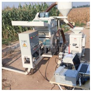 谷物小區測產系統