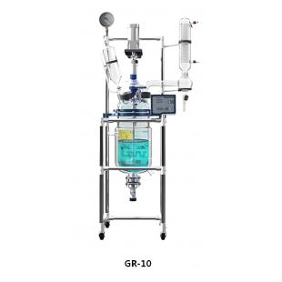 GR-10变频调速双层玻璃反应釜