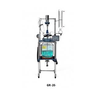 GR-20L变频调速双层玻璃反应釜